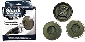 Shark Euro-Pro XSB745 3 Replacement Filters Cordless Hand Vac - [Kitchen]