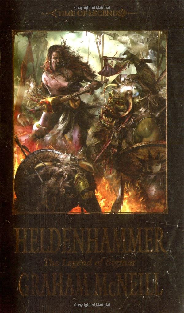 Time of Legends: Heldenhammer (Time of Legends; Sigmar Trilogy) (Book 1) PDF