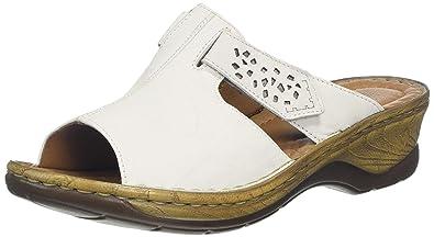 744e054e2807c Josef Seibel Women's Catalonia Velcro Fastening Sandals 2.5/35 White SS17