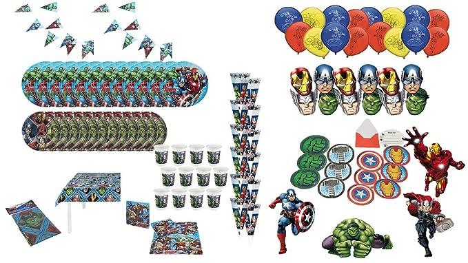 ALMACENESADAN 1010, Lote para Fiestas y cumpleaños Avengers ...