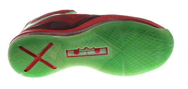 various colors 86ce9 893e7 Amazon.com   Nike Mens Lebron X Christmas Day Red Tremlin 541100-600    Basketball