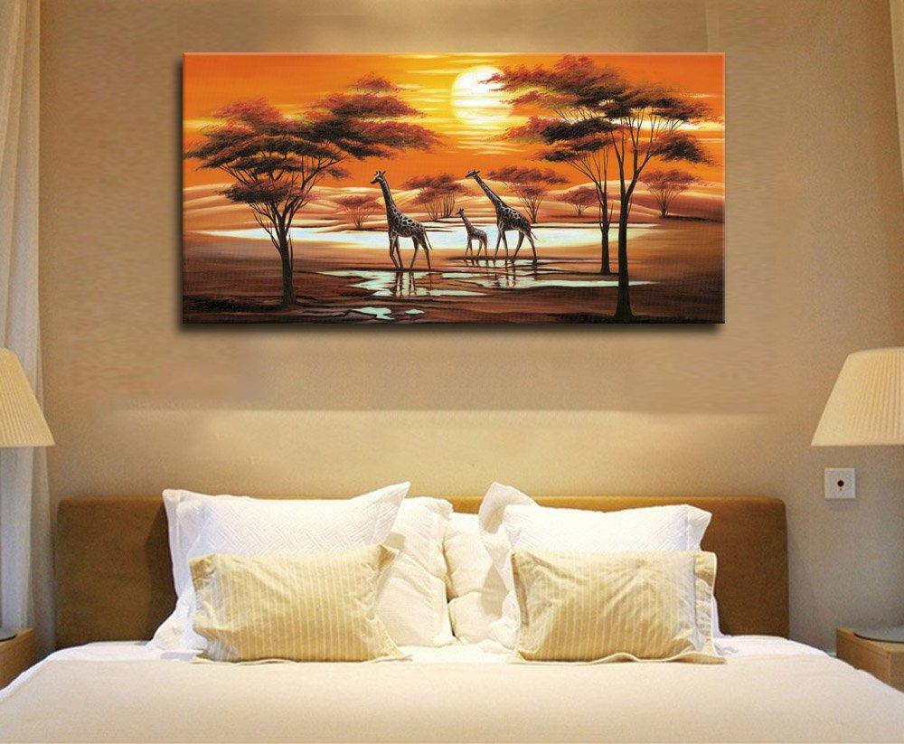 Amazon.com: arteWOODS Large Canvas Art Wall Decor Panoramic Canvas ...