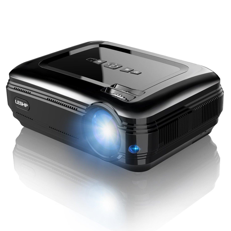 LESHP BL HD Proyector LED P Lumenes x hasta P Contraste de