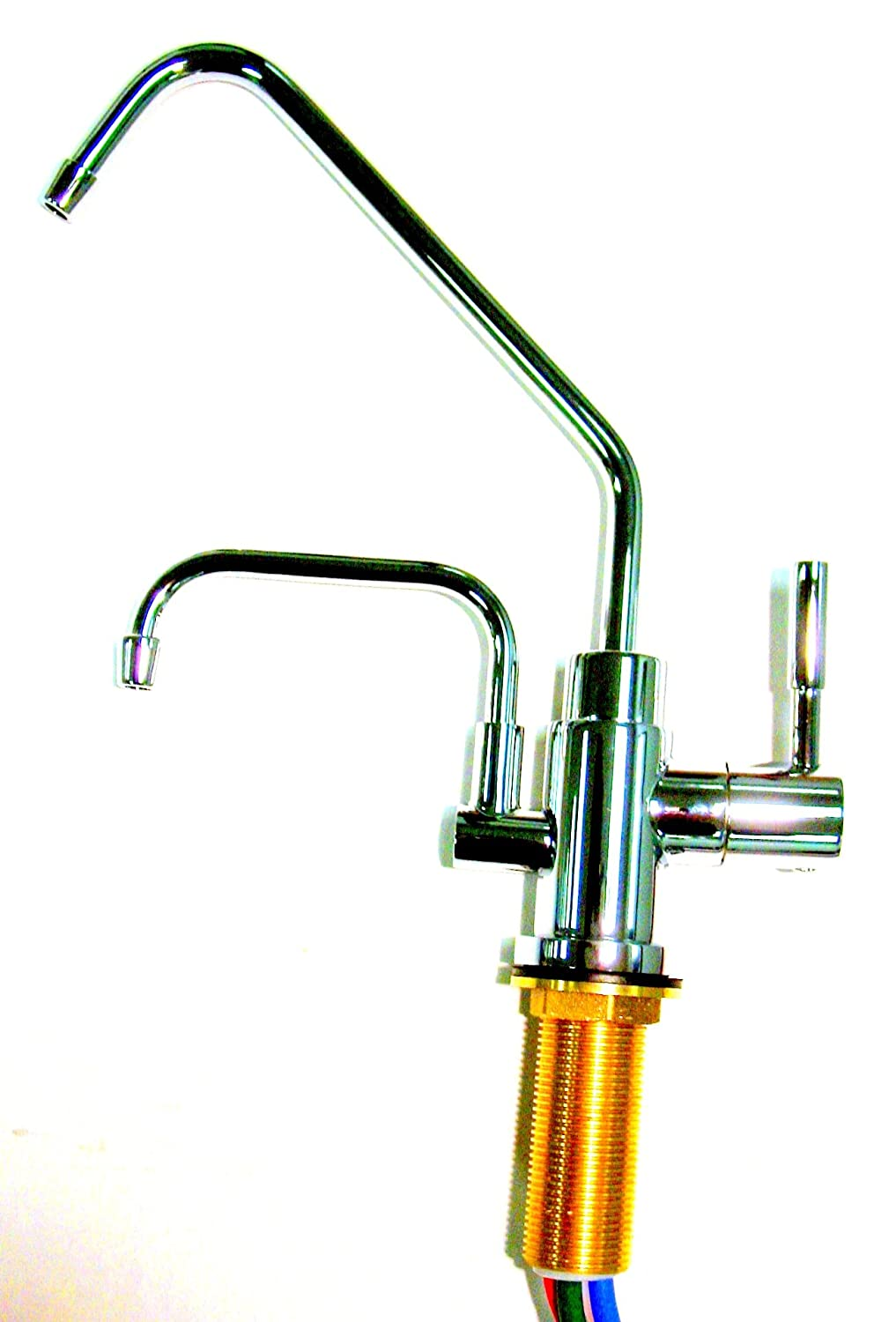 Jupiter Ionizer Undersink Installation Kit - 2 Headed - Chrome Faucet