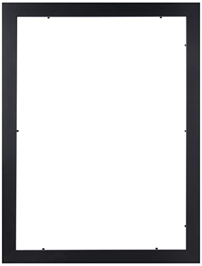 Amazon.com - ArtToFrames 13x18 inch Satin Black Picture Frame ...
