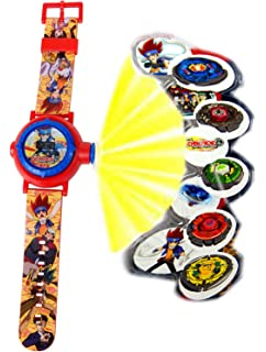 BeyBlade. Watch With Projector,Children Watch,Multi Projector Watch,Official Licensed.