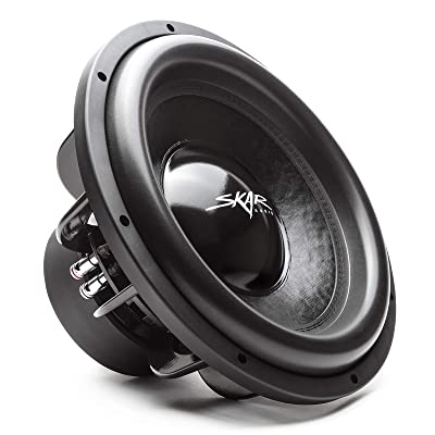 "Skar Audio EVL-15 D4 15"" 2500 Watt Max Power Dual 4 Ohm Car Subwoofer"