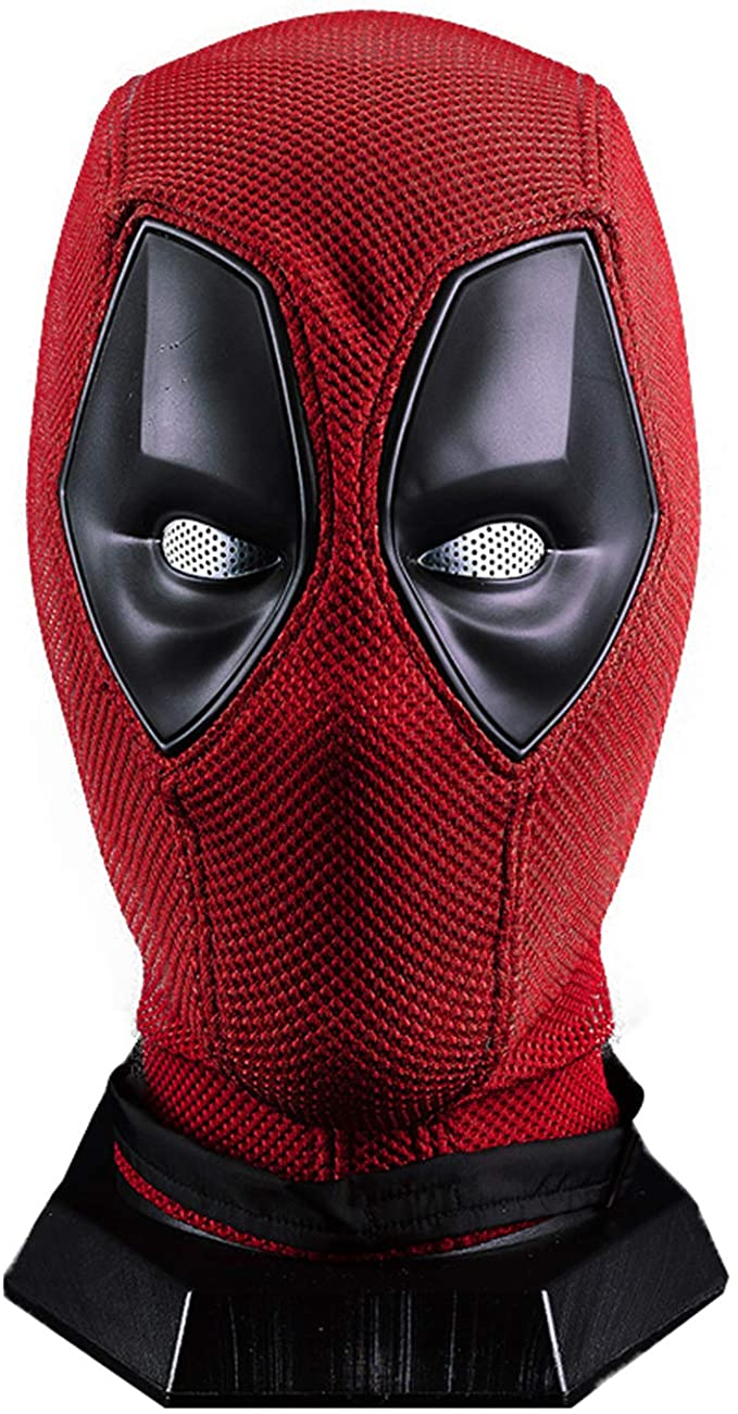 Amazon Com Wade Wilson Mask Superhero Dp Helmet Knitted Props Clothing