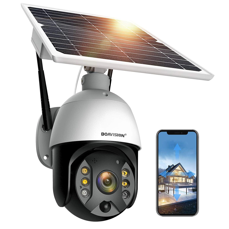 Boavision S10 Solar Powered camera