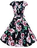 Amazon Com Gowntown Womens Dresses Party Dresses 1950s