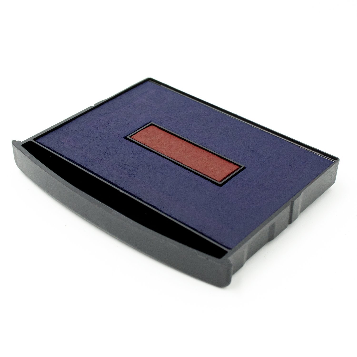 Replacement Blue/RED 2 Color Ink Pad for XL Dater Extra Large Date Stamp by MaxMark