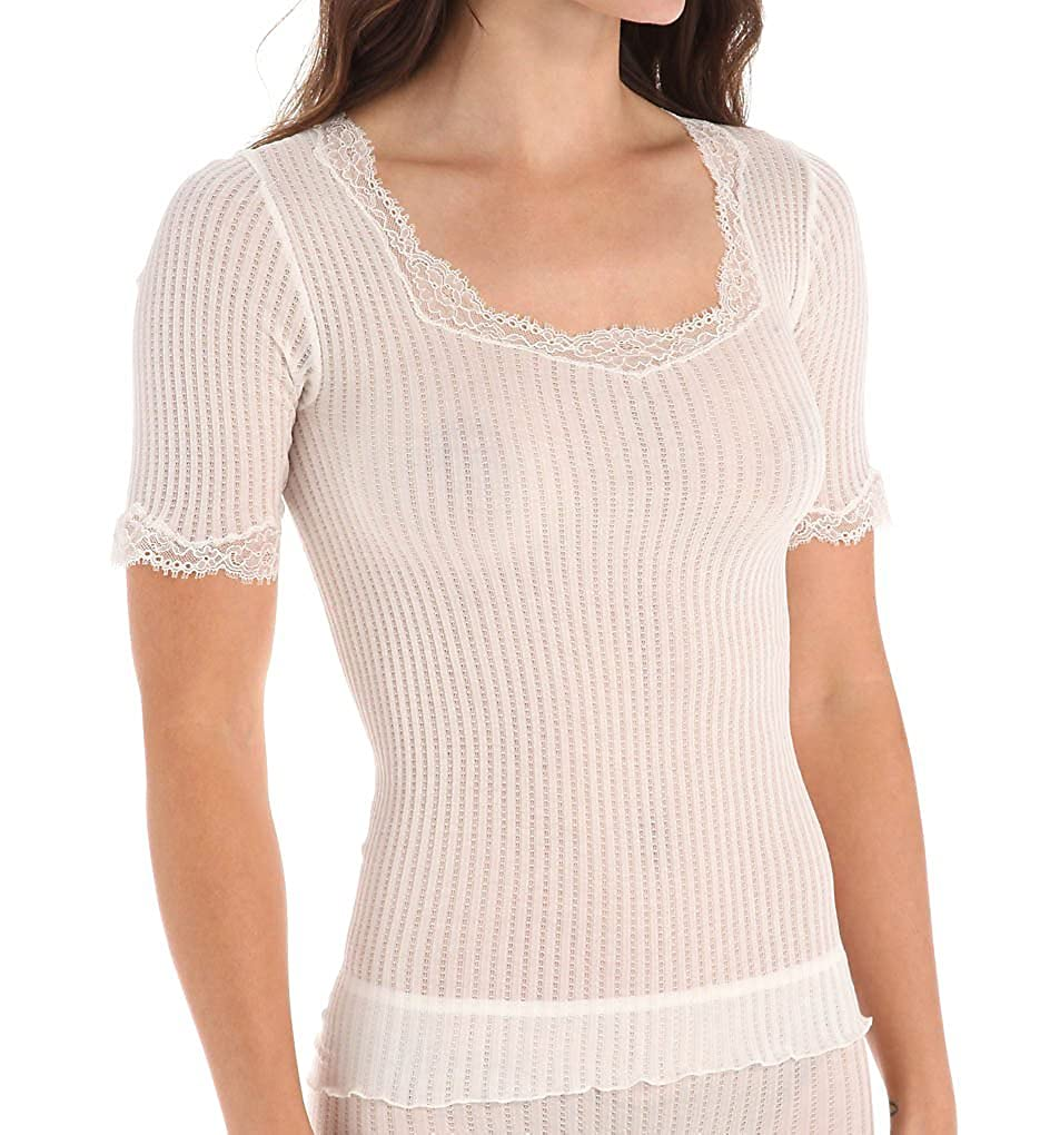 Zimmerli Maude Prive Short Sleeve Cami Top At Amazon Womens