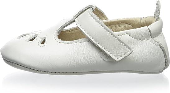 Amazon.com: Old Soles Baby t-petal Color Blanco Mary Jane EU ...