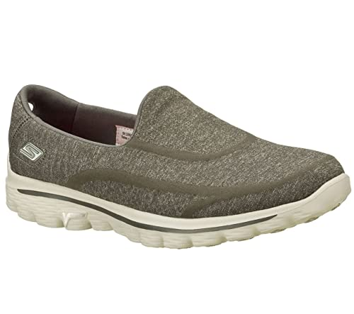 Skechers GO WALK 2 - SUPER SOCK Ladies Walking Trainers Six Colour Options  (3, Charcoal): Amazon.co.uk: Shoes & Bags
