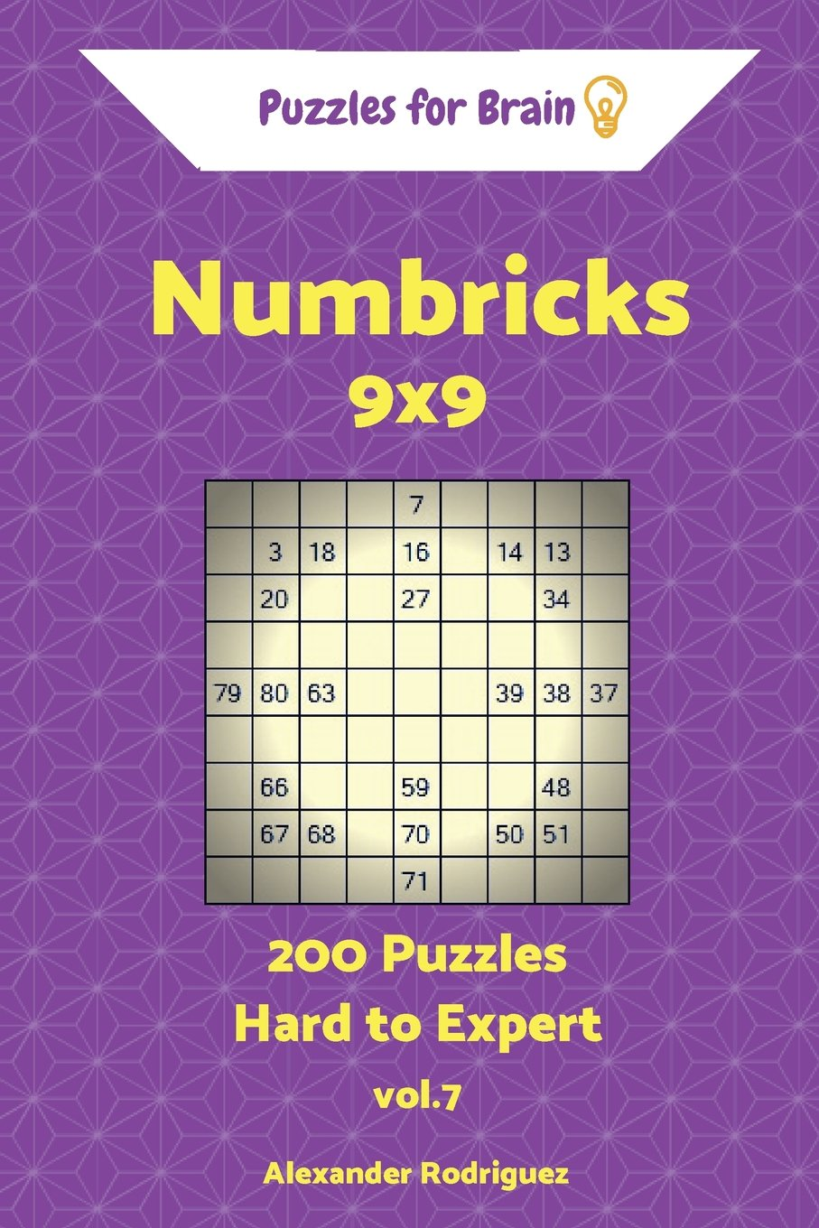 Buy Puzzles for Brain Numbricks - 200 Hard to Expert 9x9 Vol  7