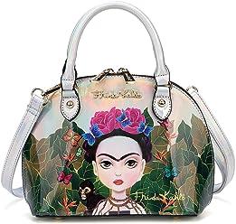 Frida Kahlo Cartoon Hologram Small Handbag/Cross Body Bag
