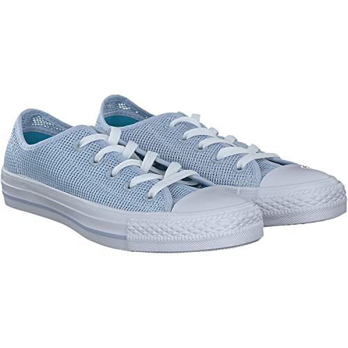 adidas Chuck Taylor All Star OX, Zapatillas de Baloncesto para Mujer, Azul (Porpoisefresh Cyanwhite Porpoisefresh Cyanwhite), 41.5 EU: Amazon.es: Zapatos y ...