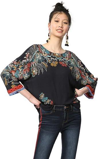 Desigual Blusas para Mujer: Amazon.es: Ropa y accesorios