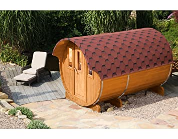 Wolff Finnhaus Saunafass 330 als Bausatz: Amazon.de: Baumarkt