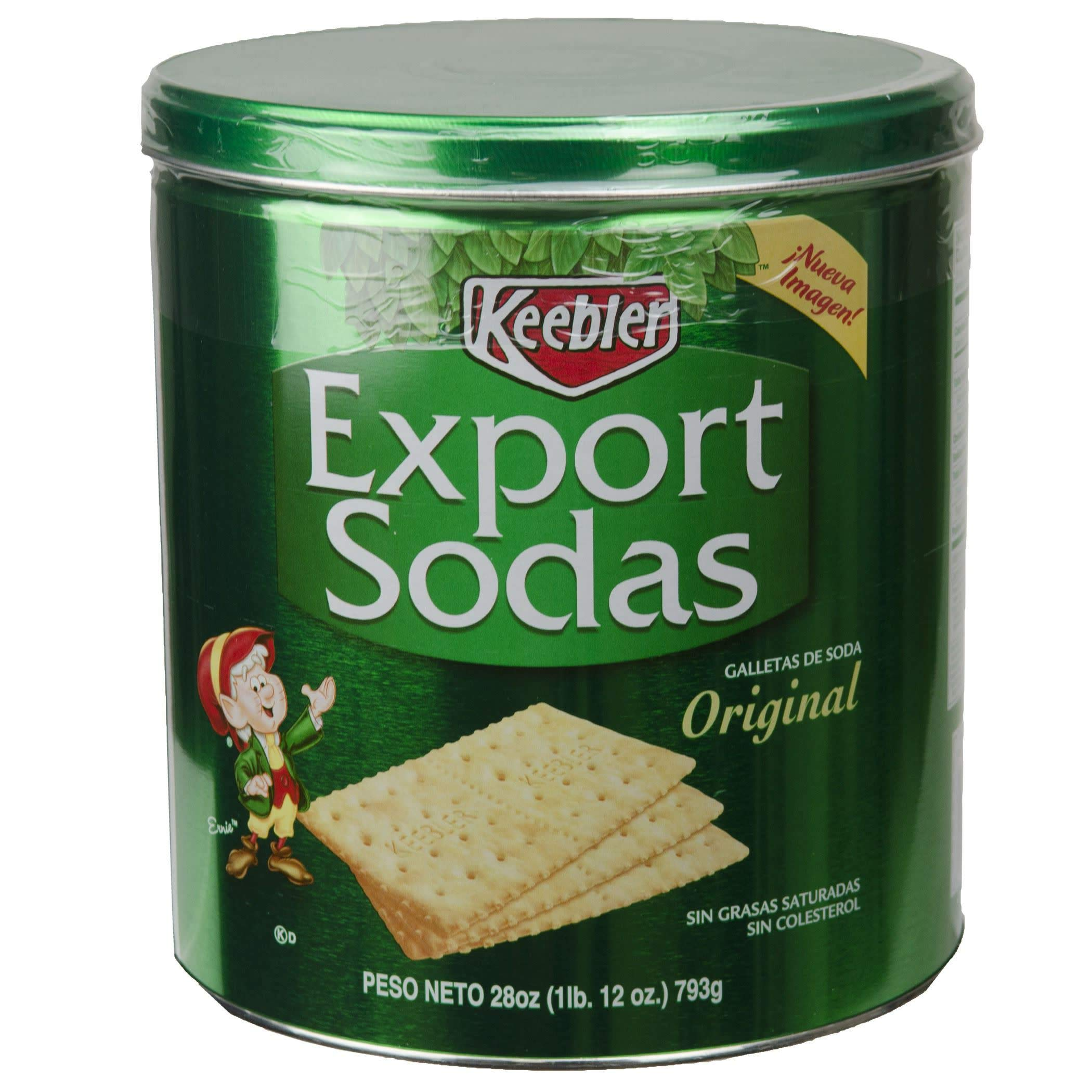 Keebler Export Soda Crackers, 28-Ounce (Pack of 3) by Keebler