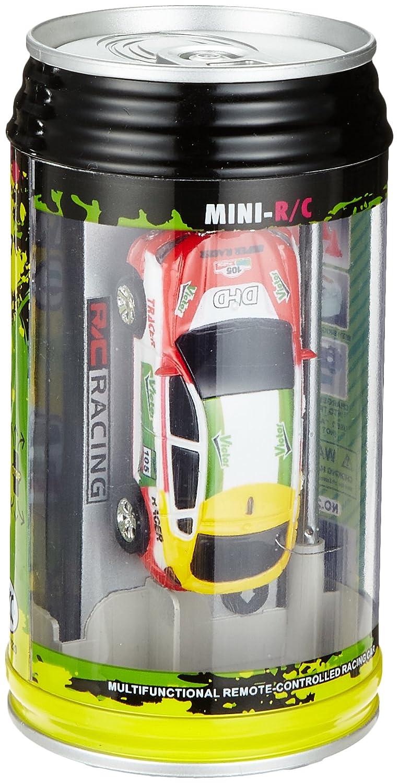 :63/modelli di auto confezionati in una lattina ELENKER Mini macchina da corsa telecomandata colore casuale telecomando con funzione di ricarica eaccessori inclusi.