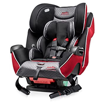 Evenflo Symphony LX Platinum All In One Convertible Car Seat