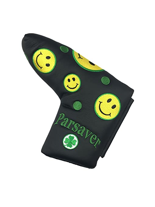 Smiley Face Putter Cover Headcover - Golf Putter Covers for Scotty Cameron  Odyssey Taylormade Titleist Ping and Mizuno Putters