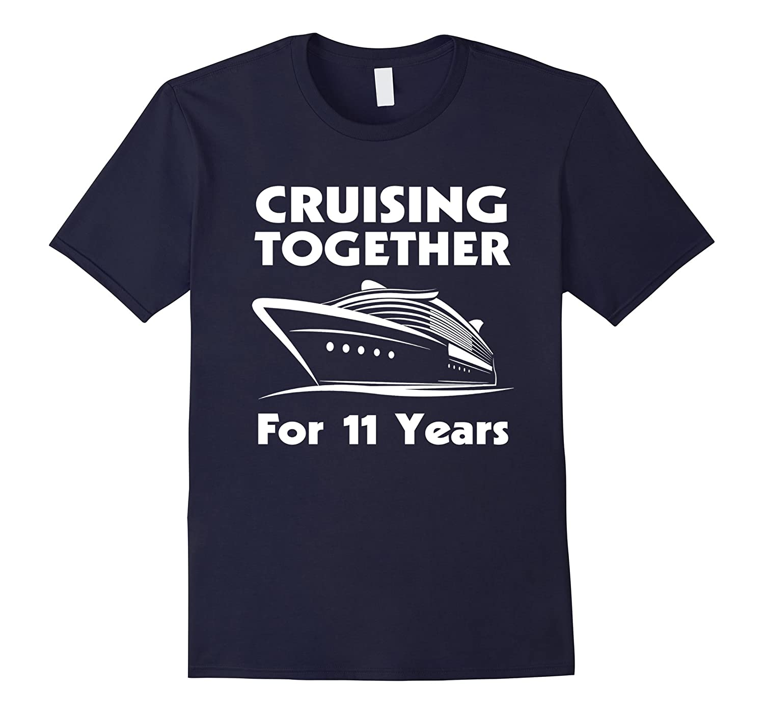 11 Years Together- 11th Wedding Anniversary Gift Ideas-T-Shirt