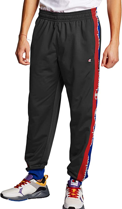 Champion Life Mens Tricot Track Pant with Script Taping (XXX ...