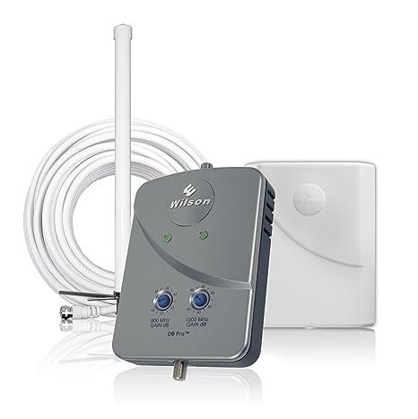 Wilson Electronics DB Pro - Amplificador de señal de TV (F-Female, 8 W, 120-240 V, 50-60 Hz, 157 x 107 x 38 mm, 0.29 kg) Gris: Amazon.es: Electrónica