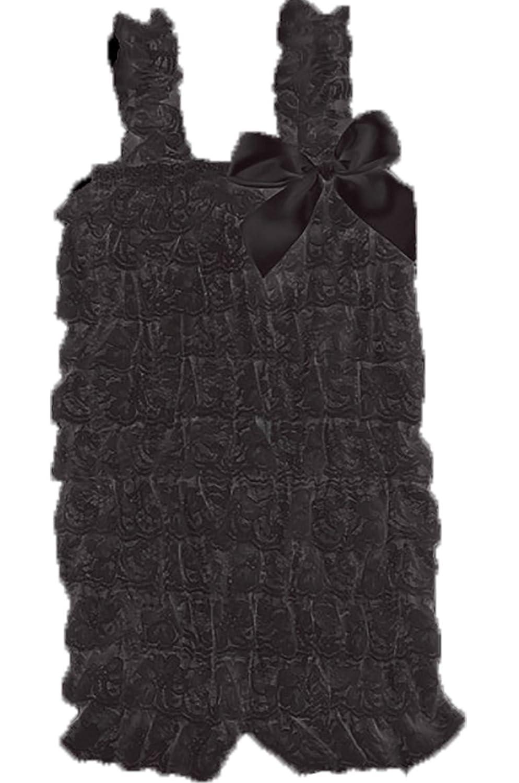 Lace Ruffle Petti Romper for Infant to 2-4t (X Large (2-4T), Black) [Apparel] Discount MFG & Dist. Inc. O1-BLXQ-DQIV