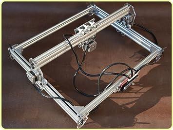 DIY 300mW máquina de grabado láser, Cámara grabadora de dibujar, indicador, plotter del palpador mesa de bricolaje para CNC impresora de marcado, Cortapapeles, Mini bricolaje corte de fotos 30 x 40 cm: