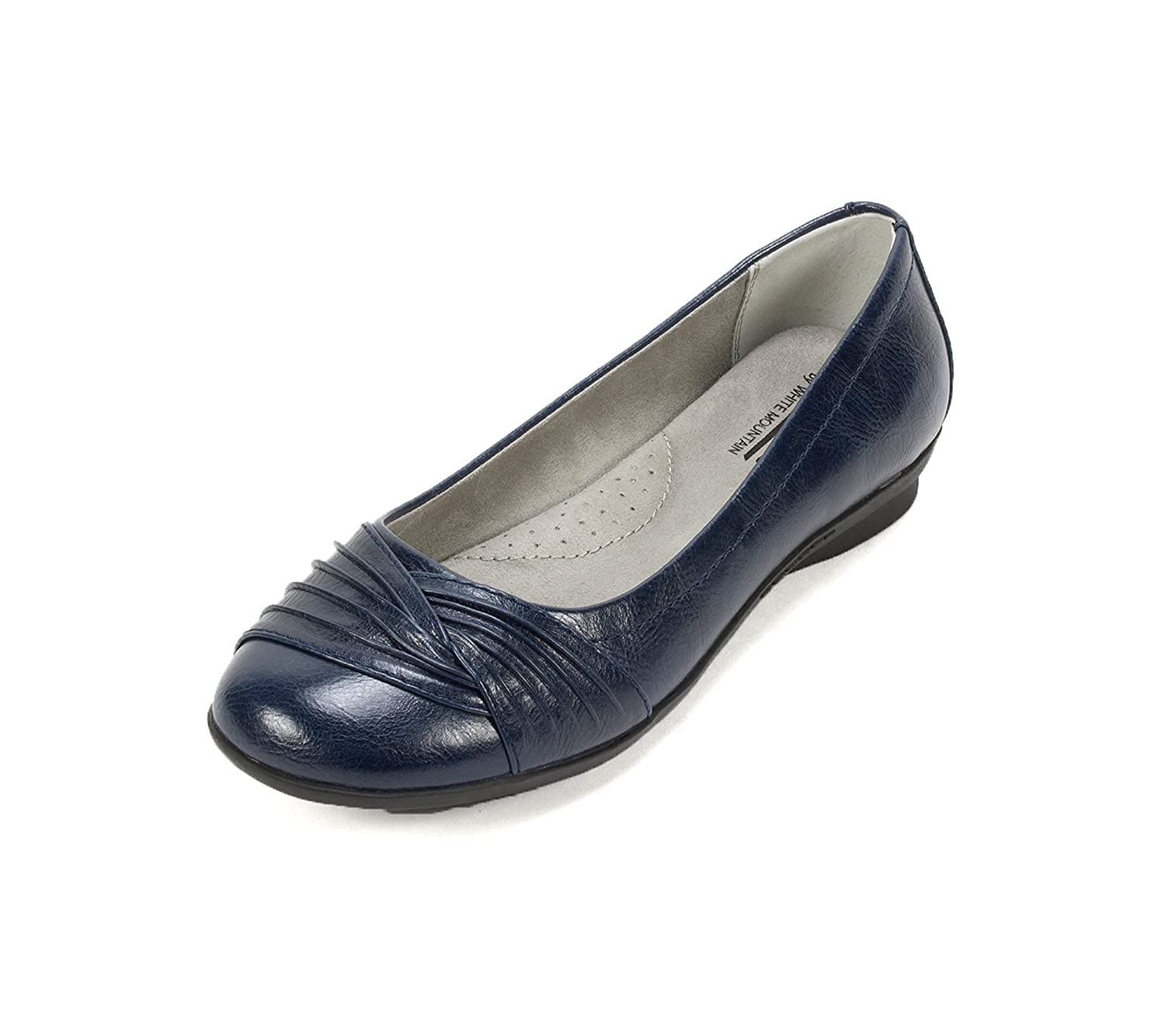 "good Cliffs by White Mountain ""Hilt"" Casual Flats Navy 10 W"