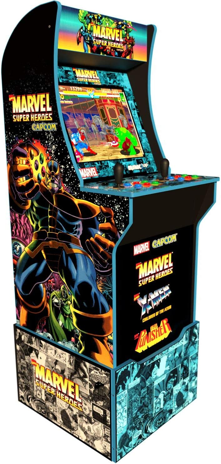Arcade 1Up Marvel Superheroes 7744 - Arcade1Up Super heroes