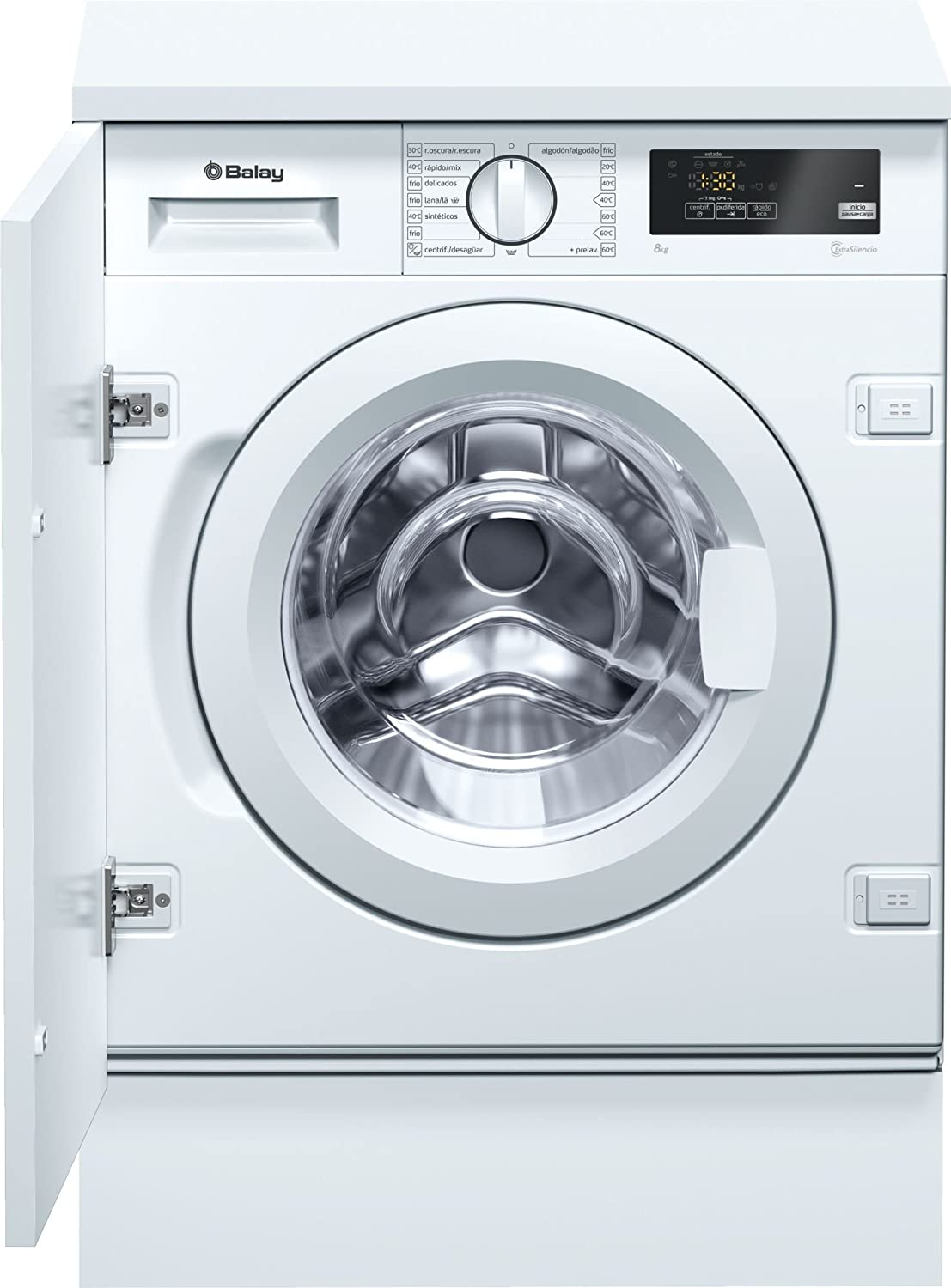 Balay 3TI986B Integrado Carga frontal 8kg 1200RPM A+++ Blanco ...