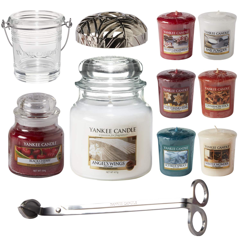 Yankee Candle Christmas 10x Tea Light Palette Gift Set