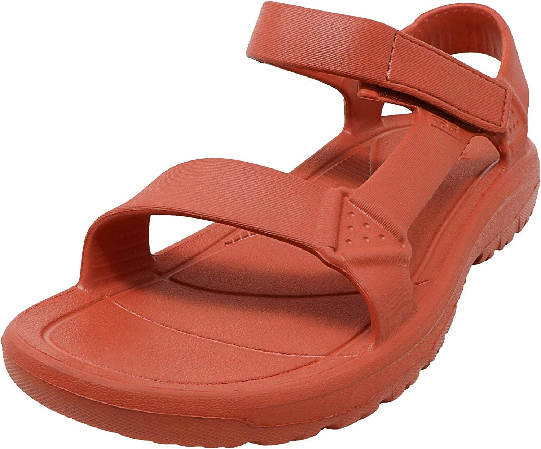 Teva Men's Hurricane Drift Orange Ankle-High Sandal - 12M