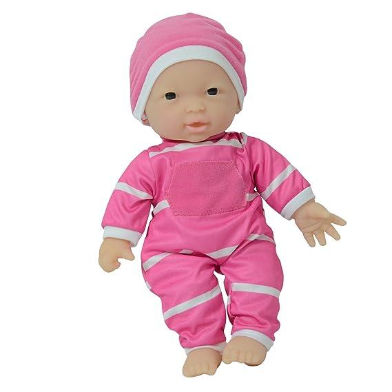 The New York Doll Collection Muñeca de Cuerpo Suave de 11 Pulgadas en Caja de Regalo - Muñeca bebé de 11