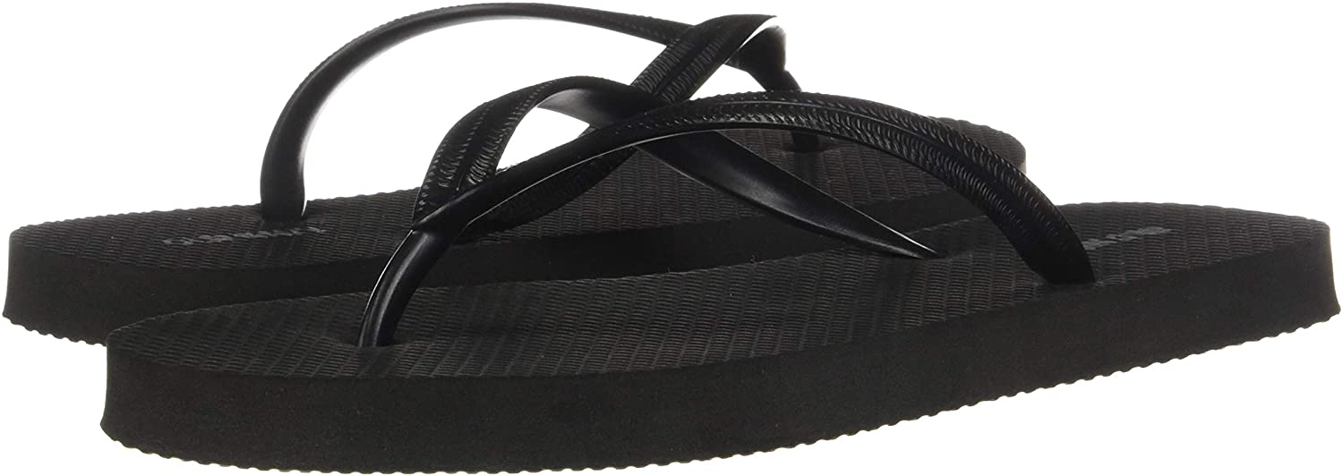 Womens Ladies Summer Metallic Flip flops Optional Beach Bag//Mat Size 3 4 5 6 7 8