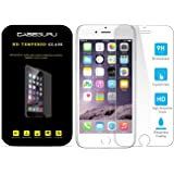 Caseguru iPhone 5, 5C & 5S Tempered Glass Screen Protector, Best Japanese PET Tempered Glass Excellent Fitting Premium 9H Glass Screen Protector - Anti-scratch, Anti-fingerprint, Bubble Free Features