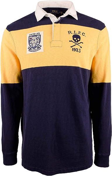 Camisa de rugby de manga larga clásica para hombre - Multi color ...