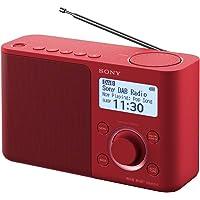 Sony XDR-S61DR Radio Portable Digitale DAB+/ FM RDS - Rouge
