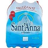 サンタンナ イタリアアルプス 天然水 炭酸水 1.5L×6本
