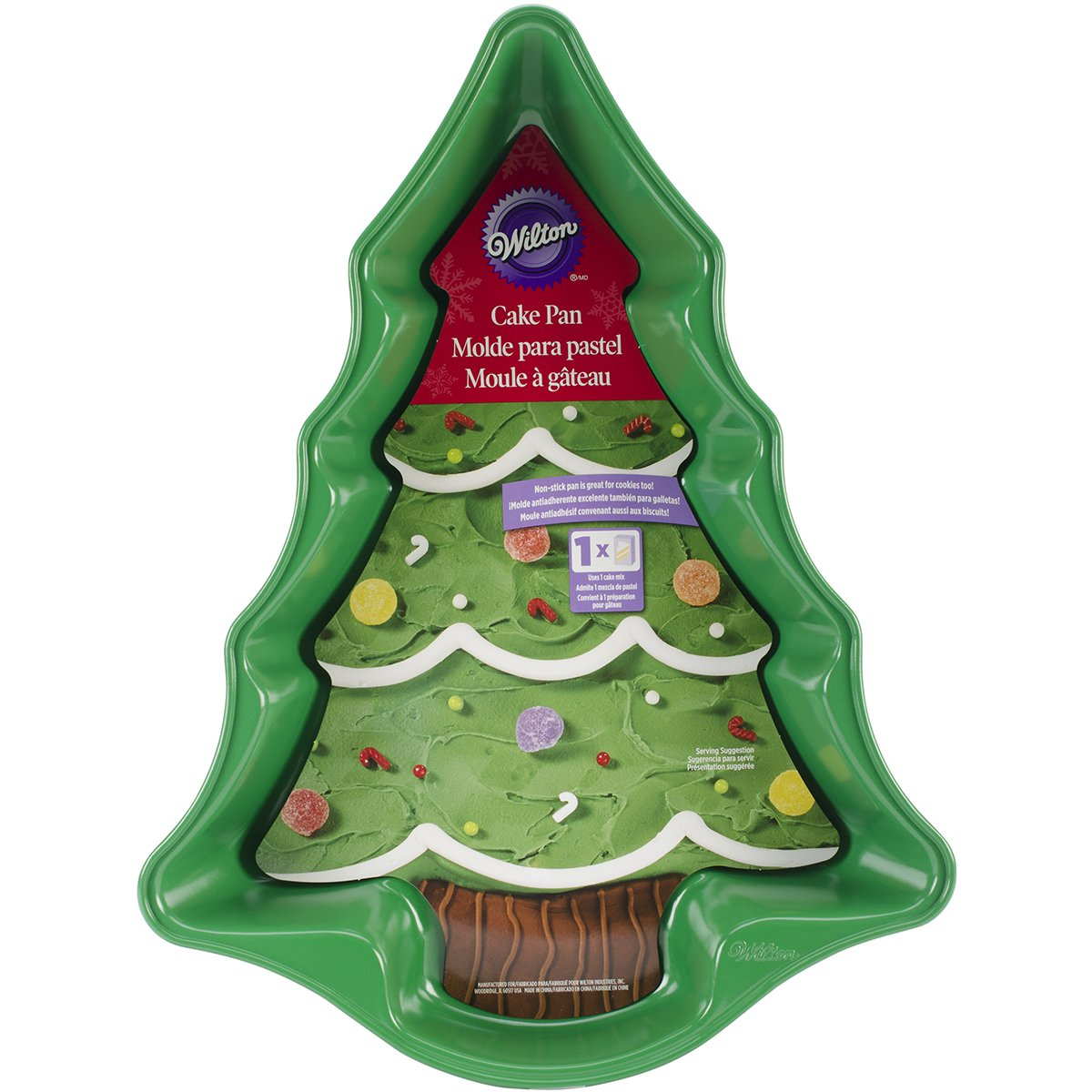 Wilton 2105-0070 Christmas Tree Cake Pan Wilton Industries