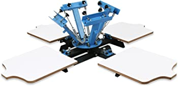VEVOR 4 Color 4 Station Screen Printing Machine
