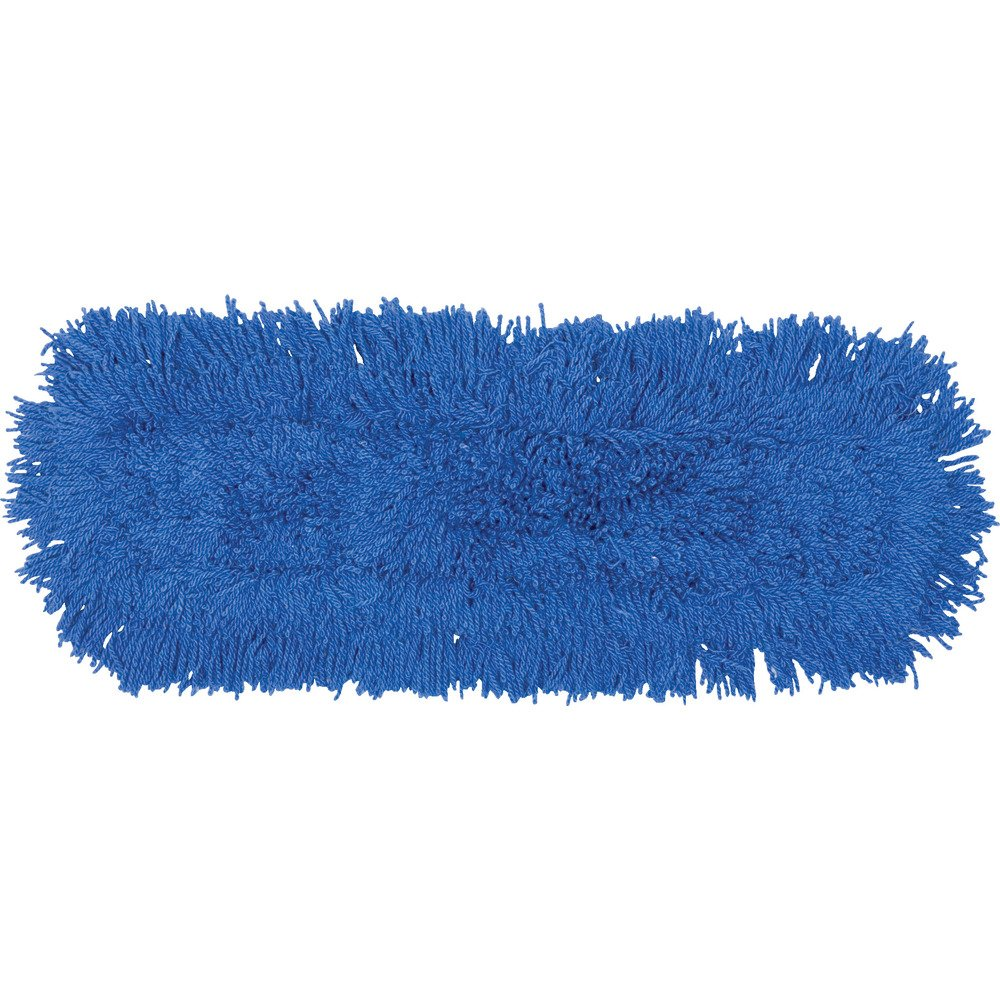 Rubbermaid Commercial Twisted Loop Dust Mop, 24'', Blue, FGJ35300BL00