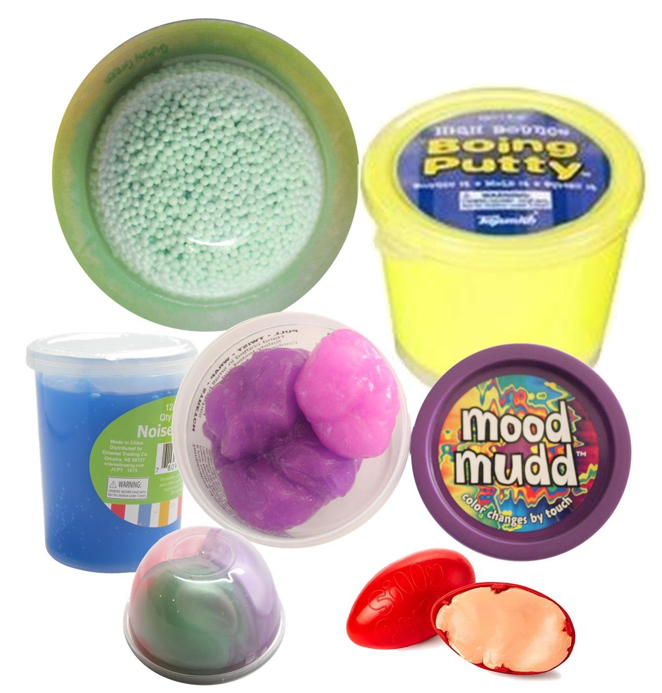 Kids Slime And Putty Toy Sampler Bundle - Tactile And Sensory Toys For Children 18