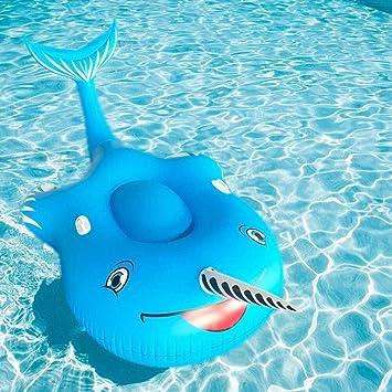 Nadar Fiesta Juguetes Balsa Inflable Narwhal Flotante Fila Juguete ...