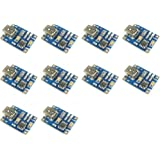 HiLetgo 10PCS TP4056ミニUSB 1Aリチウム バッテリチャー ジャーモジュール 充電ボード 4.5V-5.5V [並行輸入品]