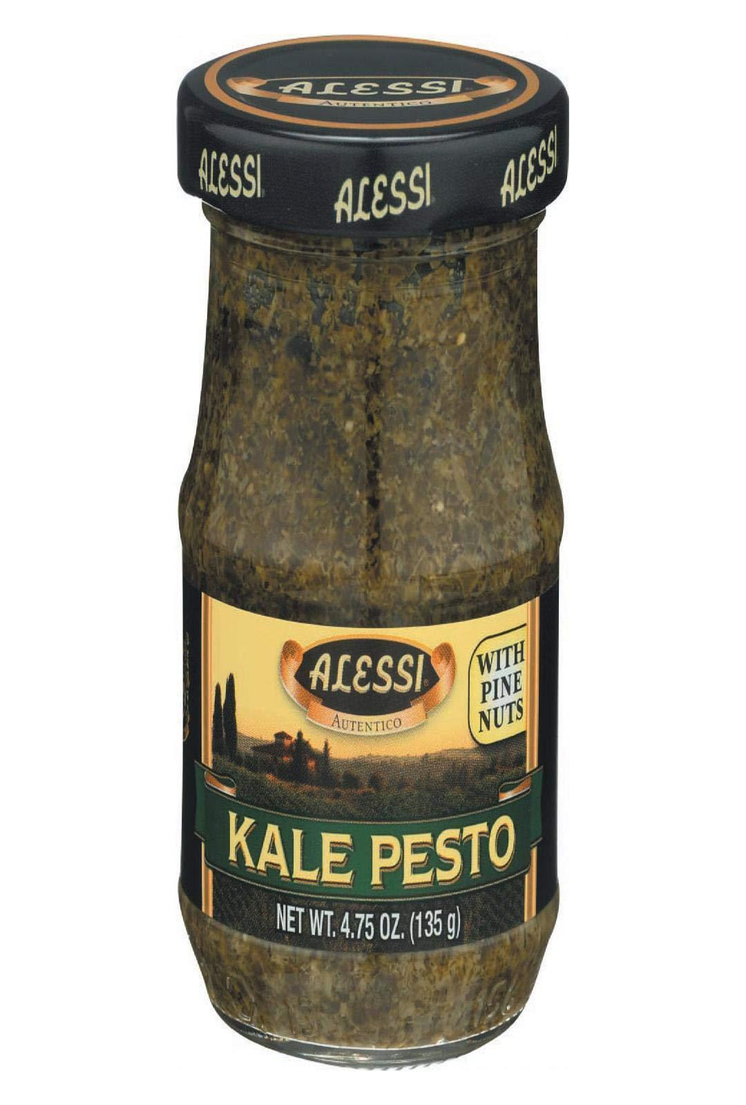 ALESSI, PESTO, KALE, Pack of 6, Size 4.75 OZ - No Artificial Ingredients Wheat Free